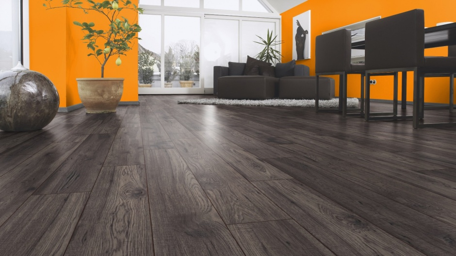 click laminat eiche sonderauktion landhausdiele v4 fuge synchronoberfl che ebay. Black Bedroom Furniture Sets. Home Design Ideas