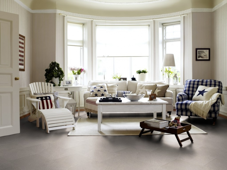 Pergo Living Expression Alpaca Slate Laminate Flooring