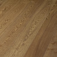 Oak Classic brushed Cognac Brown plank 185