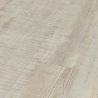 Oak antique white rough-sawn